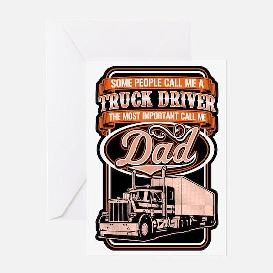 Unique Trucker Greeting Card