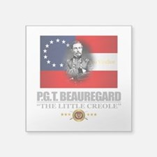 "Beauregard (Southern Patrio Square Sticker 3"" x 3"""