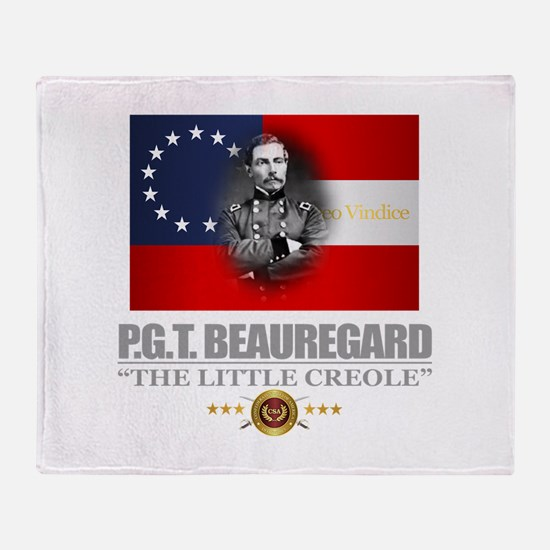Beauregard (Southern Patriot) Throw Blanket