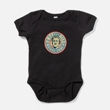 Cute I voted for obama Baby Bodysuit