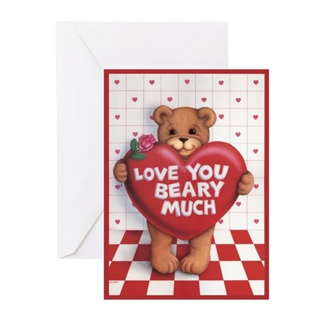 Love You Beary Much Cards (Pk of 10)