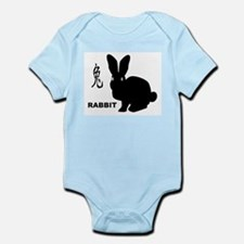 Chinese Year Of The Rabbit Body Suit