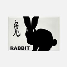 Chinese Year Of The Rabbit Magnets