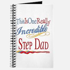 Incredible Step Dad Journal