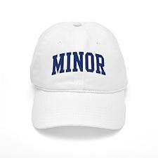 MINOR design (blue) Baseball Cap