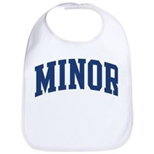 MINOR design (blue) Bib