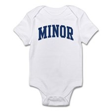 MINOR design (blue) Infant Bodysuit
