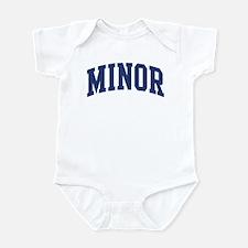 MINOR design (blue) Infant Bodysuit