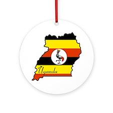 Cool Uganda Ornament (Round)