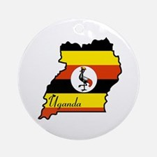Cool Uganda Ornament (Round)