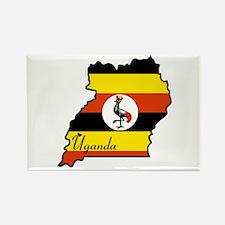 Cool Uganda Rectangle Magnet (100 pack)