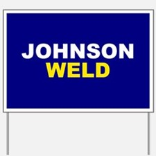 Johnson-Weld Yard Sign