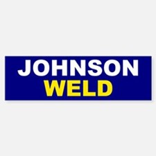 Johnson-Weld Bumper Bumper Bumper Sticker