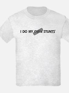 Bandage, I Do My Own Stunts T-Shirt