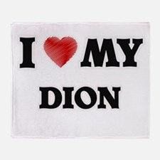 I love my Dion Throw Blanket
