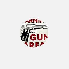 Warning Gun Area Mini Button