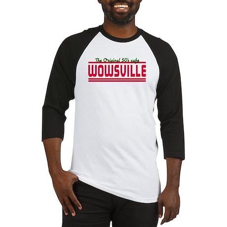Wowsville 50's cafe Baseball Jersey