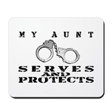 Serves & Protects Cuffs - Aunt Mousepad