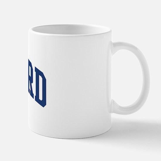 MUMFORD design (blue) Mug