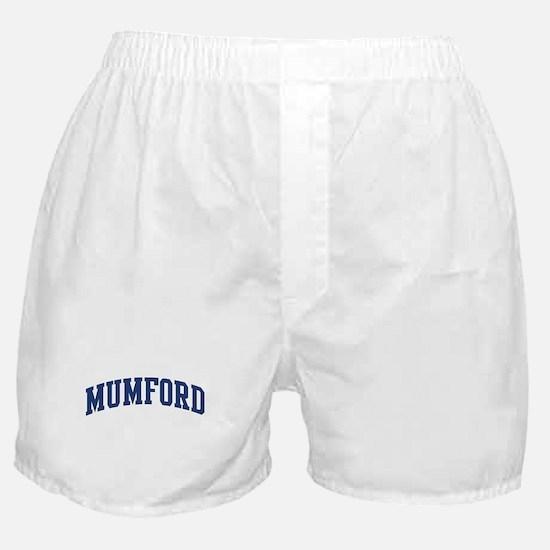 MUMFORD design (blue) Boxer Shorts