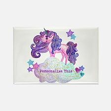 Cute Personalized Unicorn Magnets