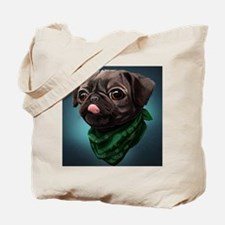 Funny Funny puggle Tote Bag