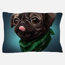 Unique Pug dog Pillow Case