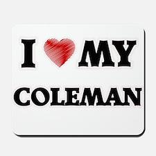 I love my Coleman Mousepad