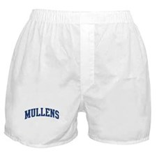 MULLENS design (blue) Boxer Shorts