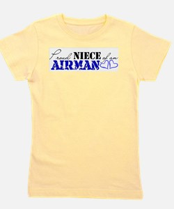 Funny My sister is in the air force Girl's Tee