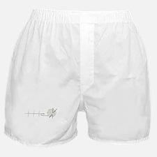 A Knitting Heart Boxer Shorts