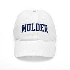 MULDER design (blue) Baseball Cap
