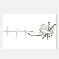 A Knitting Heart Postcards (Package of 8)