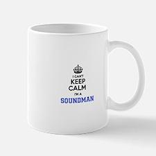 I can't keep calm Im SOUNDMAN Mugs
