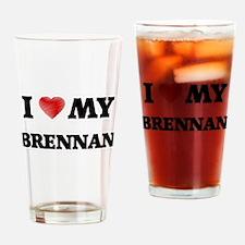 I love my Brennan Drinking Glass
