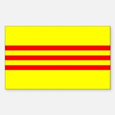 South Vietnam flag Decal