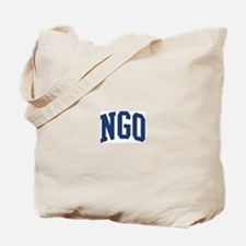 NGO design (blue) Tote Bag