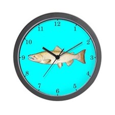 Chinook Salmon Wall Clock