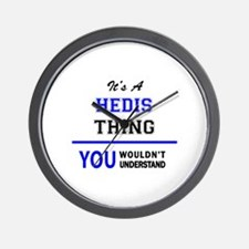 It's a HEDIS thing, you wouldn't unders Wall Clock