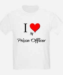 I Love My Prison Officer T-Shirt