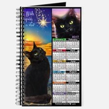 Wish Upon a Star Black Cat Journal