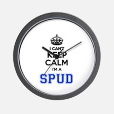 I can't keep calm Im SPUD Wall Clock
