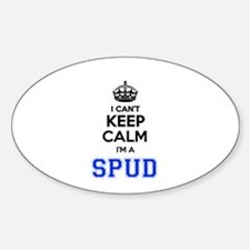 I can't keep calm Im SPUD Decal