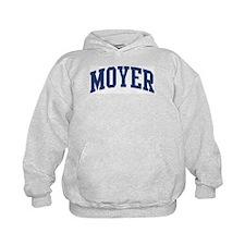 MOYER design (blue) Hoodie