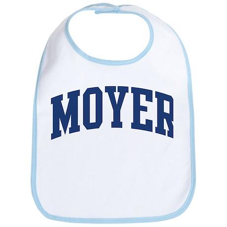 MOYER design (blue) Bib