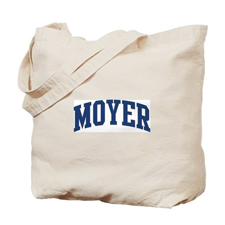 MOYER design (blue) Tote Bag