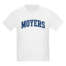 MOYERS design (blue) T-Shirt