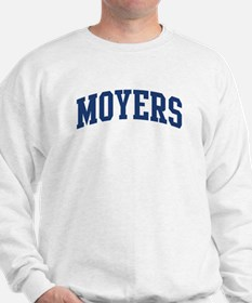 MOYERS design (blue) Sweatshirt
