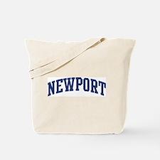 NEWPORT design (blue) Tote Bag