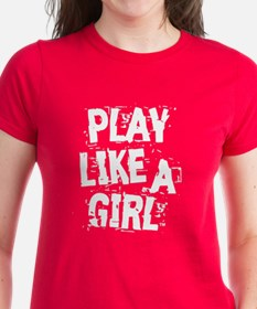 Play Like A Girl Tee